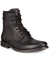 Kenneth Cole Reaction | Black Steer The Wheel Boots for Men | Lyst