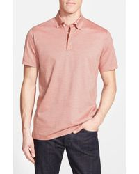 Robert Talbott | Red Stretch-Cotton Jersey Polo Shirt for Men | Lyst