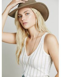 Free People - White Morocco Tank - Lyst