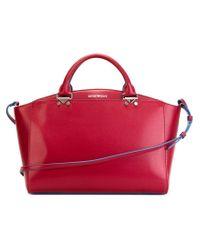Emporio Armani | Red Classic Shopper Tote | Lyst