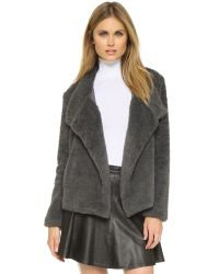 BB Dakota - Gray Jenny Jacket - Lyst