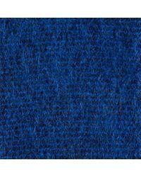 Paul Smith - Blue Women's Navy Striped Fluffy Mohair-cashmere Socks - Lyst