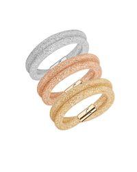 Swarovski | Multicolor Three-piece Stardust Deluxe Bracelet Set | Lyst