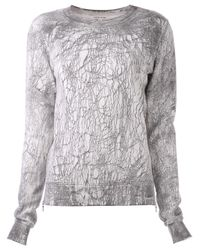 Cotton Citizen - Gray Zip Pullover Sweater - Lyst