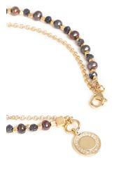 Astley Clarke - Metallic 'Cosmos' 18K Gold Peacock Pearl Spinel Friendship Bracelet - Golden Curiosity - Lyst