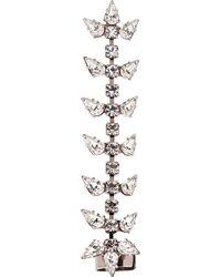 DANNIJO - Metallic Silver Crystal Gwendolyn Ear Cuff - Lyst