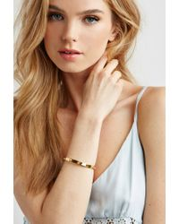 Forever 21 | Yellow Wanderlust + Co Multi-stud Bangle | Lyst