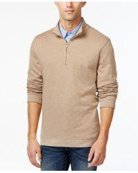 Tricots St Raphael   Multicolor Herringbone Quarter-zip Mock-neck Sweater for Men   Lyst