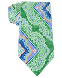 Geoffrey Beene | Green Do The Bright Thing Tie for Men | Lyst
