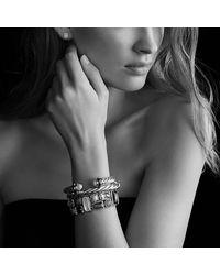 David Yurman - Metallic Sculpted Cable Bangle Bracelet, 10mm - Lyst