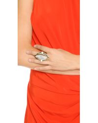Samantha Wills - Metallic Reality Of Dreams Grand Ring - Gold/white - Lyst