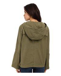 Free People - Green Safari Pullover - Lyst