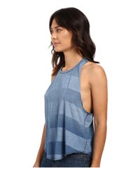 Billabong - Blue To The Limit Muscle Tee - Lyst