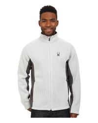 Spyder - Multicolor Foremost Full Zip Heavy Weight Core Sweater for Men - Lyst