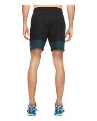 New Balance - Black Hybrid Tech Shorts for Men - Lyst