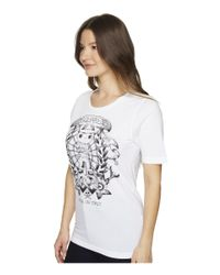 DSquared² - White Renny Fit Soft Print T-shirt - Lyst