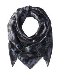 Rag & Bone - Black Etched Floral Scarf - Lyst