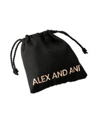 ALEX AND ANI - Metallic Snowbell Winter Solace - Lyst