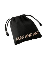 ALEX AND ANI - Metallic Words Are Powerful - Seaside Rock On Bangle Bracelet - Lyst