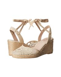 Adrianna Papell - Natural Penny Espadrille Wedge Sandal - Lyst