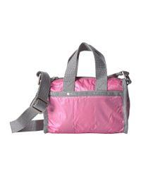 LeSportsac - Pink Mini Weekender - Lyst
