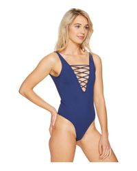 Rip Curl - Blue Designer Surf One-piece - Lyst