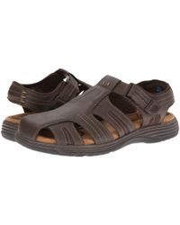 Nunn Bush - Brown Ripley Closed-toe Fisherman Sandal for Men - Lyst