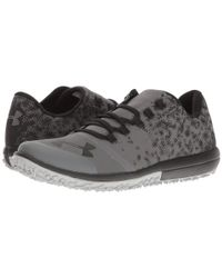 Under Armour - Black Ua Speed Tire Ascent Low for Men - Lyst