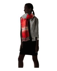 Steve Madden - Red Double Play-d Blanket Wrap - Lyst