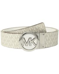 MICHAEL Michael Kors - Multicolor Smooth Leather Reversible Belt - Lyst