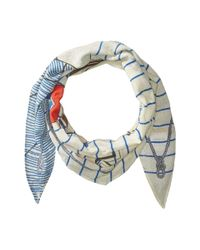 Polo Ralph Lauren - Multicolor Polo Nautique Diamond Shape Scarf - Lyst