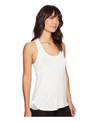 Pj Salvage - Natural Lace Back Tank Top - Lyst