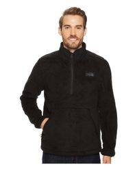 The North Face - Black Campshire Pullover for Men - Lyst