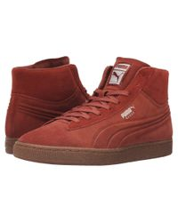 PUMA - Multicolor Suede Mid Emboss Mixed Rubber for Men - Lyst