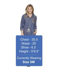 Double D Ranchwear - Blue Chief Five Thunder Boilersuit - Lyst