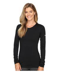 Nike - Black Pro Warm Long Sleeve Training Top - Lyst