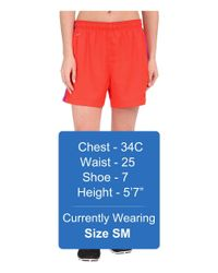 Nike | Red Dri-fittm Squad Woven Short | Lyst