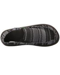 Sanuk - Black Yew-knit for Men - Lyst