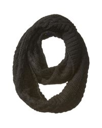Polo Ralph Lauren - Black Traveling Aran Neck Ring Scarf - Lyst