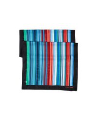 Calvin Klein - Red Multicolor Shadow Stripe - Lyst