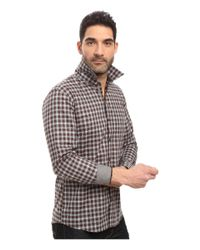 7 Diamonds - Brown One Tree Hill Long Sleeve Shirt for Men - Lyst