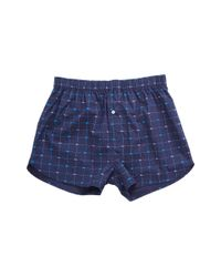4ca3be580fb8 Lyst - Lacoste Authentics 2-pack Signature Print Woven Boxers in ...