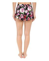 Betsey Johnson - Multicolor Woven Shorts - Lyst