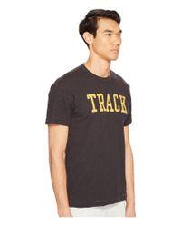 Todd Snyder - Black Track Graphic T-shirt for Men - Lyst