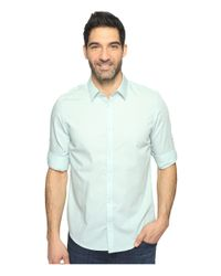 Calvin Klein - Blue Chambray Button Down for Men - Lyst