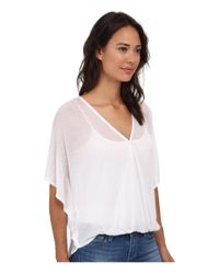 Culture Phit - White Katie Butterfly Arm Top - Lyst