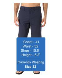 Hurley - Blue Dri-fit Chino Walkshort for Men - Lyst