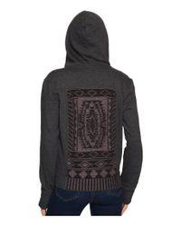 Prana - Black Ari Zip-up Fleece Jacket - Lyst