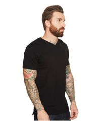 Scotch & Soda - Black V-neck Tee In Clean Jersey Quality for Men - Lyst