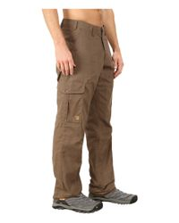 Fjallraven - Brown Ovik Trousers for Men - Lyst